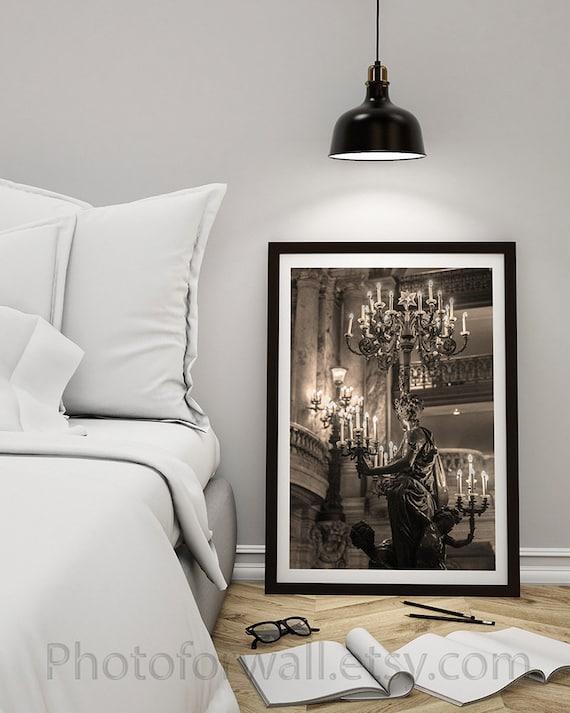 Paris Bedroom Decor Chandelier Of The Opera Garnier