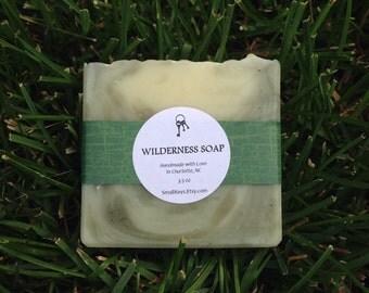 Wilderness Cold Process Handmade Soap