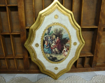 Florentine Wall Plaque