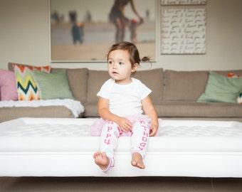 Birthday Girl Baby Leg Warmers
