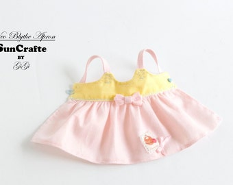 Handmade Neo Blythe Apron with Bow (w/o tulle)  by Sun-Crafte Summer 2016