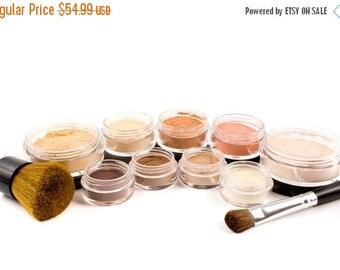 60% OFF - Mineral Foundation   Vegan Eyeshadow   Natural Makeup   Makeup   Mineral Makeup   Face Powder   12pc GETTING STARTED   Makeup Kit