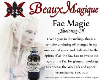 Fae Magic ~ Anointing Oil, occult supplies, Elves, fairy, fairies, Feri, Conjure Oil, summoning oil, rootwork oils