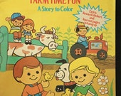 Farm Time Fun - A Fisher Price Little People Coloring Book