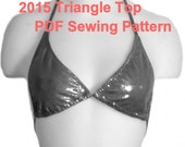 Triangle Top  Sewing Pattern Collection (6 Sizes)