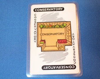 Clue Card Pocket Mirror
