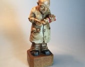 Toriart 1958 Arni Carved and Hand Painted Pediatrician
