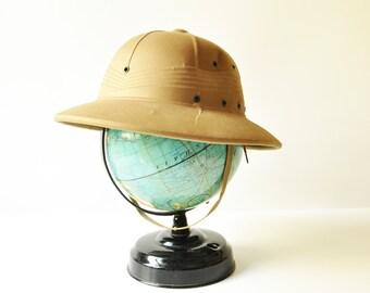 1944 Safari Pith Helmet - International Hat Co - WWII