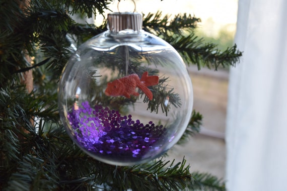Koi fish bowl ornament medium for Koi fish ornament