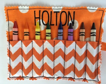 BOGO Personalized Crayon Roll