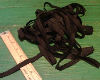 1/2 Inch Black Elastic