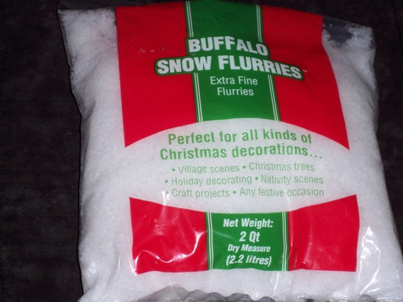 Artificial snow flakesextra finepowder dry
