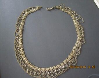 Vintage Chain Belt Belly Dancer Metal Belt Chain Belt