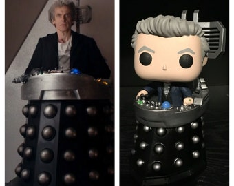 "Custom Funko Pop: ""Doctor Who""  Twelfth (12th) Doctor in Davros' Chair"