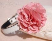 Cute vintage pink flower dog collar,wedding dog collar.Birthday party dog collar.dog wedding collar.pet fahsion, Birthday gift for dog