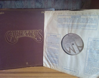 SALE Vintage The Carpenters Vinyl Record Music Collectables