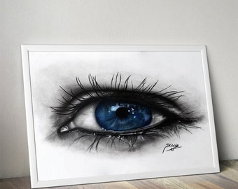 Eye Gicee Print - Limited Edition - Fine Art Print A3