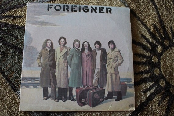 David Jones Personal Collection Record Album - Foreigner