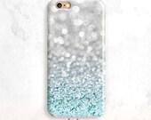 Glitter iPhone 6S Case, Blue Glitter iPhone 7 Case, iPhone SE Case,iPhone 6 Plus, iPhone 5 Case, iPhone 6 Case, Glitter iPhone 7 Case,7 Plus