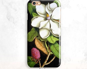 iPhone 6S Case, Vintage Flower iPhone 5S Case, Floral iPhone SE Case, iPhone 6 Plus, iPhone 7, Floral iPhone 6 Case, Flower iPhone 5 Case
