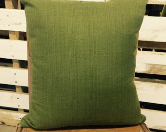 Green 50cm Cushion Cover in Warwick Upholstery