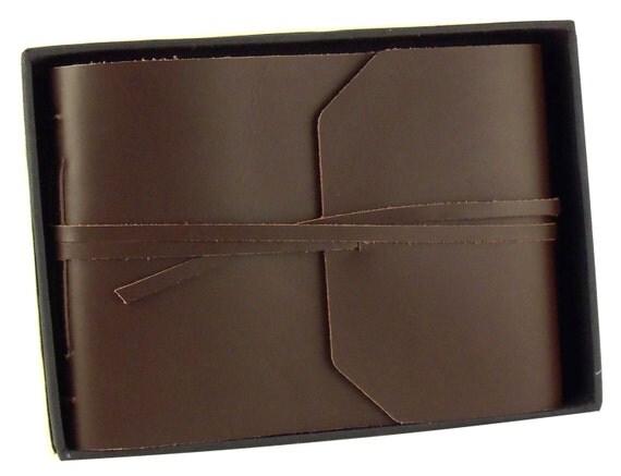 LARGE Leather Photo Album Scrapbook Genuine Rustic Handmade Gift 4x6 5x7 8x10