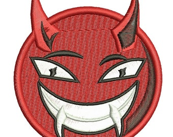 devil smile  - Machine Embroidery designs,
