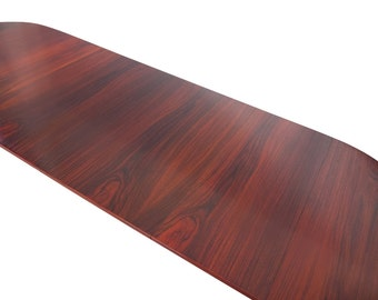 Rosewood Table Randers Danish Modern 3ft to 8ft Apartment Perfect
