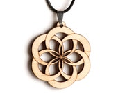 Flower of Life Knot Necklace