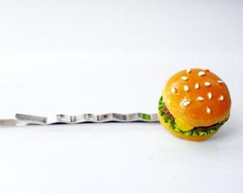 Burger hair pin