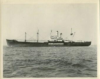 Steamer steamship Isbrantsen antique photo