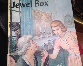 "Vintage Nancy Drew ""The Clue in the Jewelbox"""