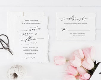 Printable Wedding Invitations with Option to Print