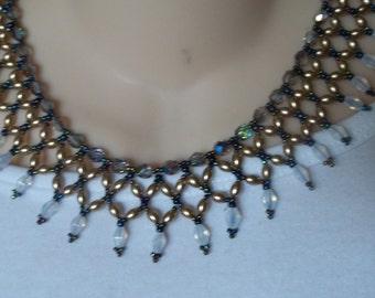 Beautiful handmade collar necklace