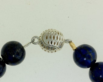 Spherical Magnetic Clasp, Sterling Silver Magnetic Clasp, Sterling Silver Clasp.