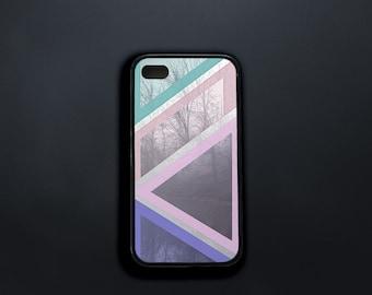 Case for iPhone 4, iPhone 4s Case Pastel Shapes, Woods iPhone 4 Case, iPhone 5s Case Forest Branches, iPhone 6 Plus Case, iPhone SE Case