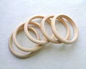 Unfinished Wood Bangles, Wooden Bangles ready to be painted