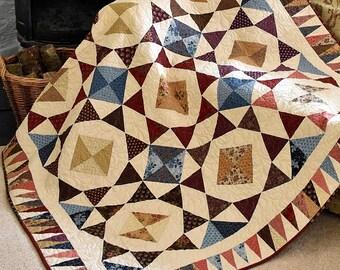 Quilt Pattern - Barn Dance Quilt Pattern