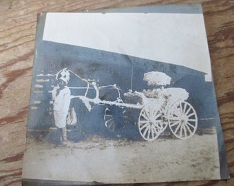 Americana  Photo of Dulany Parade Carriage Street Carnival, 1895  - From a collection of Black Memorabilia - Estate find!