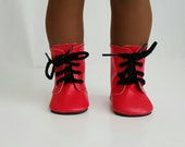 Red Boots for 18 inch dolls