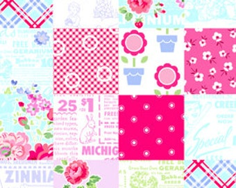 Pam Kitty Garden- Patchwork by Lakehouse Dry Goods