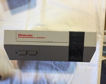 Nintendo Entertainment System with Mario 2!