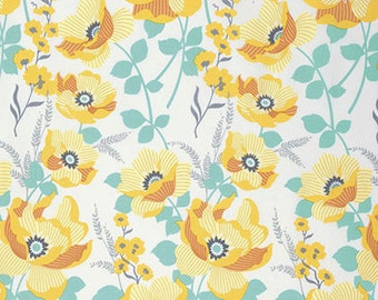 Atrium Monarch in Goldenrod by Joel Dewberry for Free Spirit Fabrics- Half Yard or By the Yard