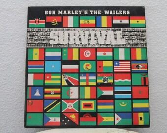 "Bob Marley & The Wailers - ""Survival"" vinyl record (NT)"