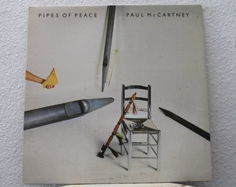 "Paul McCartney - ""Pipes Of Peace"" vinyl record"