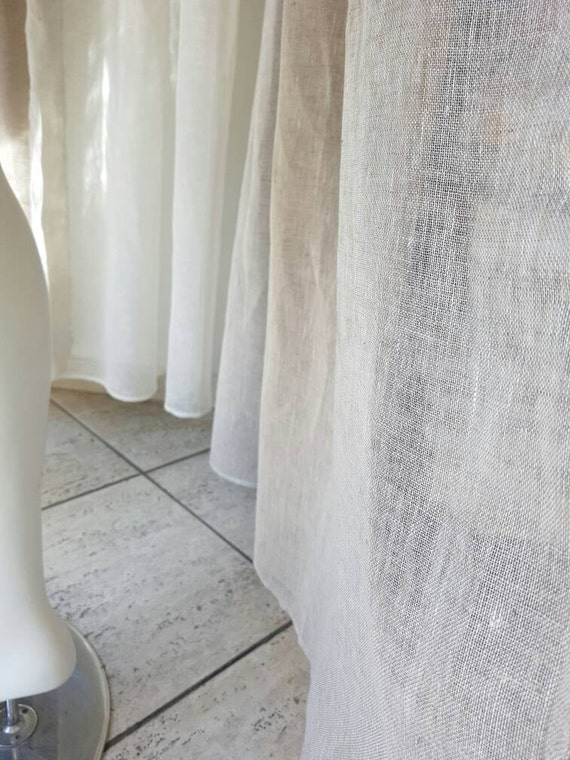 sheer linen fabric by the meter linen for curtains