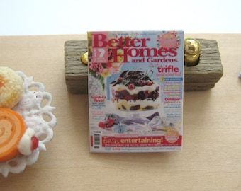 dollhouse christmas cooking better homes  magazine 12th scale miniature