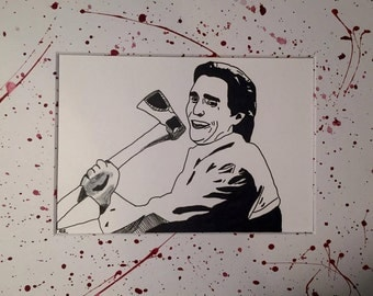 American Psycho Print style #1