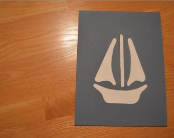 Ship Canvas Painting