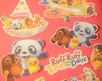 Ruff-Ruff, Tweet and Dave Die Cuts Qty 11